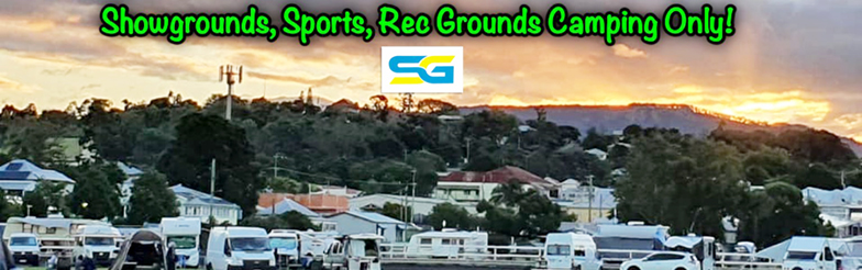 Showgrounds, Sports, Rec Grounds Camping Only