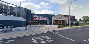The entrance to Bunnings Gladesville, NSW, store